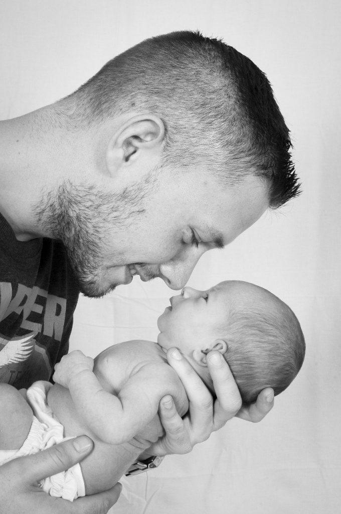 father and son baby father 1153919 Ritratto fotografico stampato gratis